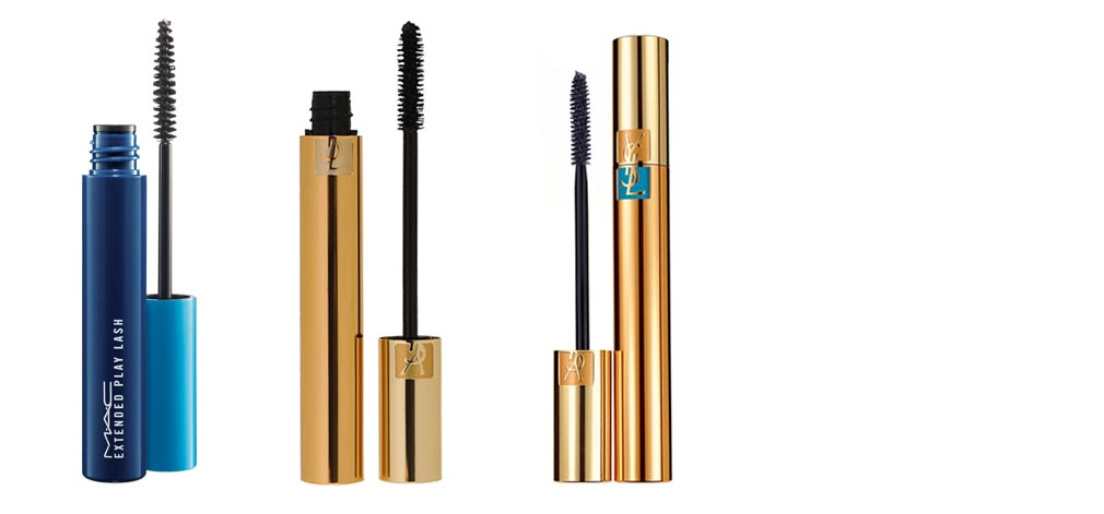 Mascara by MAC and Yves Saint Laurent
